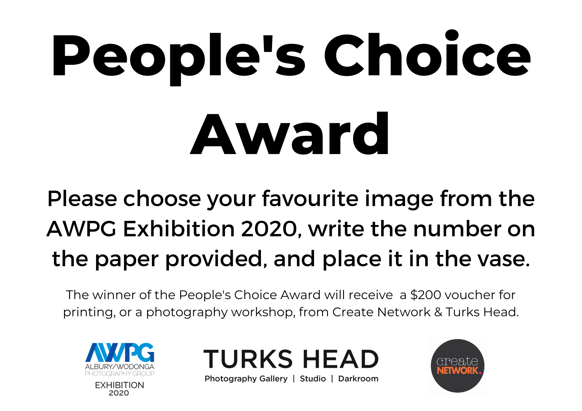 People's Choice Award AWPG Exhibition 2020